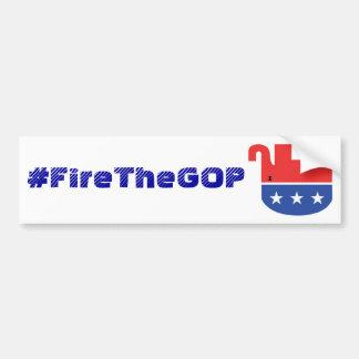 Autocollant De Voiture bumpersticker de #FireTheGOP