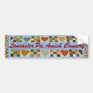 Autocollant De Voiture Cadeau amish, adhésif pour pare-chocs du comté de