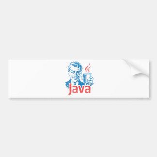 Autocollant De Voiture Cadeau de programmeur de Java