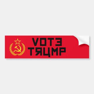 Autocollant De Voiture Camarade d'atout de vote