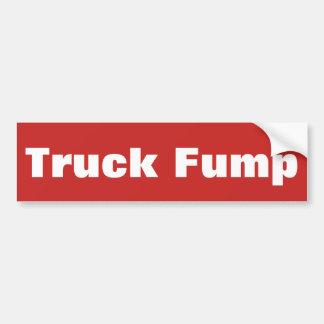 Autocollant De Voiture Camion Fump - adhésif pour pare-chocs