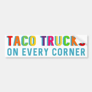 Autocollant De Voiture Camions de taco sur chaque adhésif pour pare-chocs