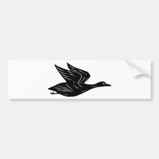 Autocollant De Voiture Canard de vol