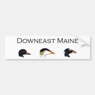 Autocollant De Voiture Canards de mer de Downeast Maine