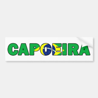 Autocollant De Voiture Capoeira