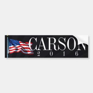 Autocollant De Voiture Carson 2016 politiques conservateurs