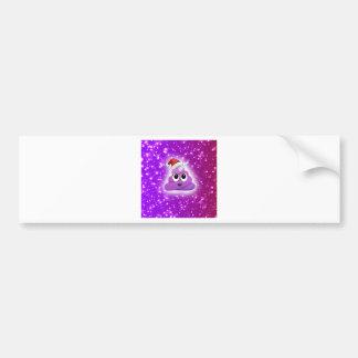 Autocollant De Voiture Carte postale rose mignonne d'Emoji de dunette de