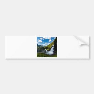Autocollant De Voiture cascade de krimml, Autriche