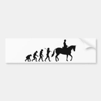 Autocollant De Voiture Cavalier de cheval