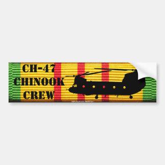 Autocollant De Voiture CH-47 adhésif pour pare-chocs chinook de ruban de