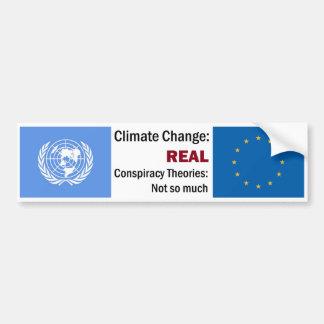 Autocollant De Voiture Changement climatique > théories de conspiration