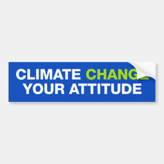 Autocollant De Voiture Changement climatique votre adhésif pour
