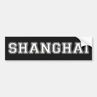 Autocollant De Voiture Changhaï