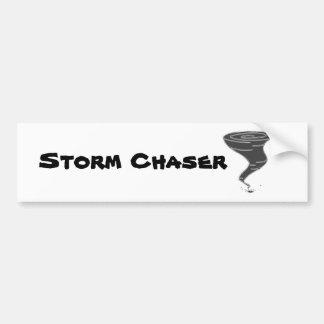 Autocollant De Voiture Chasseur de tempête - adhésif pour pare-chocs