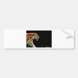 Autocollant De Voiture Chat dangereux de fourrure prédatrice de tigre