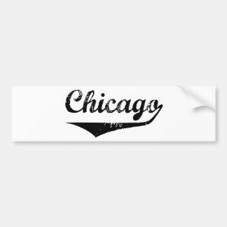 Autocollant De Voiture Chicago