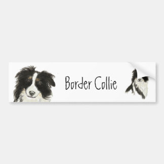 Autocollant De Voiture Chien o de border collie