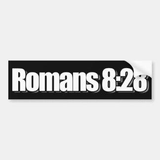 Autocollant De Voiture Chrétien de 8h28 de Romains