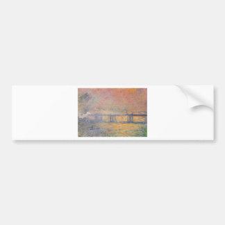 Autocollant De Voiture Claude Monet - Saint Louis de pont croisé de
