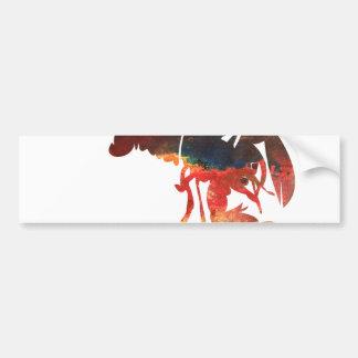 Autocollant De Voiture Collage de médias mélangés de homard