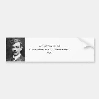 Autocollant De Voiture Colline 1906 d'Alfred Francis