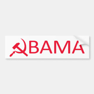 Autocollant De Voiture Communiste Bumpersticker d'Obama
