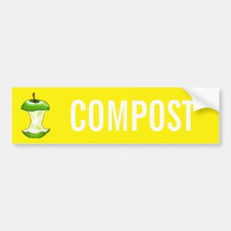 AUTOCOLLANT DE VOITURE COMPOST