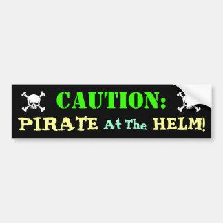 Autocollant De Voiture Conducteur de pirate