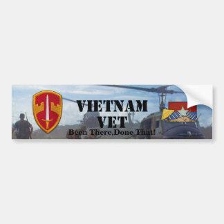 Autocollant De Voiture Conseillers militaires Vietnam Nam de MACV Sog