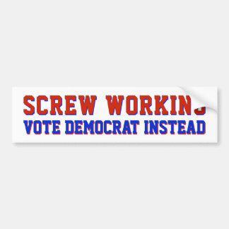 Autocollant De Voiture Conservateur politique de GOP des pro travaux