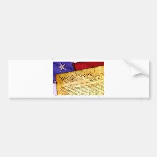 Autocollant De Voiture Constitution 4 juillet l'indépendance du 4 juillet