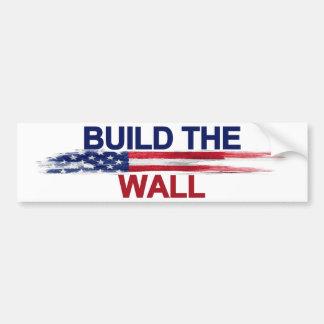 Autocollant De Voiture Construisez le mur