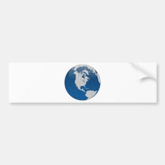 Autocollant De Voiture Copie de haute qualité de la terre bleue