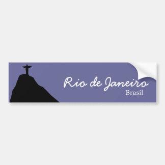 Autocollant De Voiture Corcovado - RJ - le Brésil