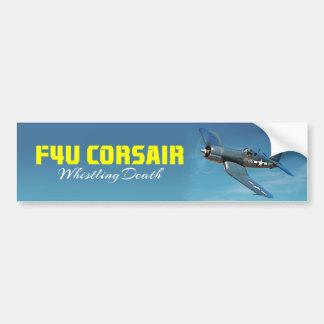 Autocollant De Voiture Corsaire de F4U