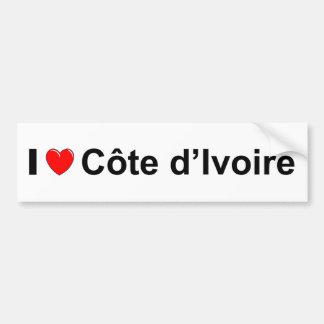 Autocollant De Voiture Côte d'Ivoire
