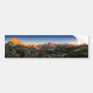 Autocollant De Voiture Coucher du soleil de lac/vallée evolution - sierra