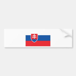 Autocollant De Voiture Coût bas ! Drapeau de la Slovaquie