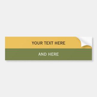 Autocollant De Voiture Coutume votre couleur des textes, d'image et