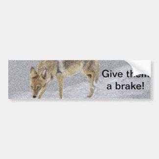 Autocollant De Voiture Coyote