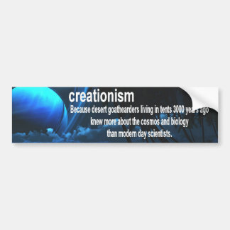 Autocollant De Voiture créationisme