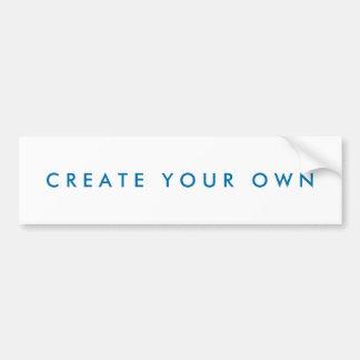 Autocollant De Voiture Créez votre propre d'une sorte
