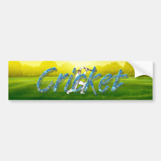 Autocollant De Voiture Cricket SUPÉRIEUR