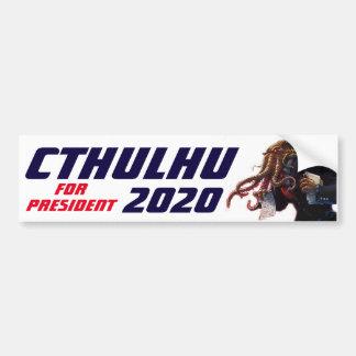 """Autocollant De Voiture """"Cthulhu pour le président 20XX """""""