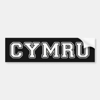 Autocollant De Voiture Cymru