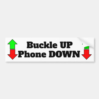 Autocollant De Voiture De boucle de téléphone adhésif pour pare-chocs