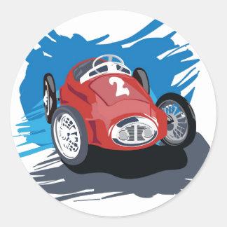 Autocollant de voiture de course