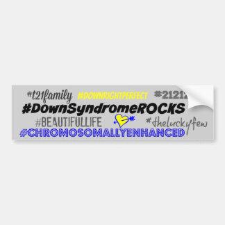 Autocollant De Voiture de hashtag adhésif pour pare-chocs de syndrom vers