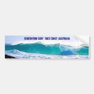 Autocollant De Voiture Décalque de surf de génération