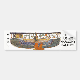 Autocollant De Voiture Déesse MA'AT d'Egypte antique